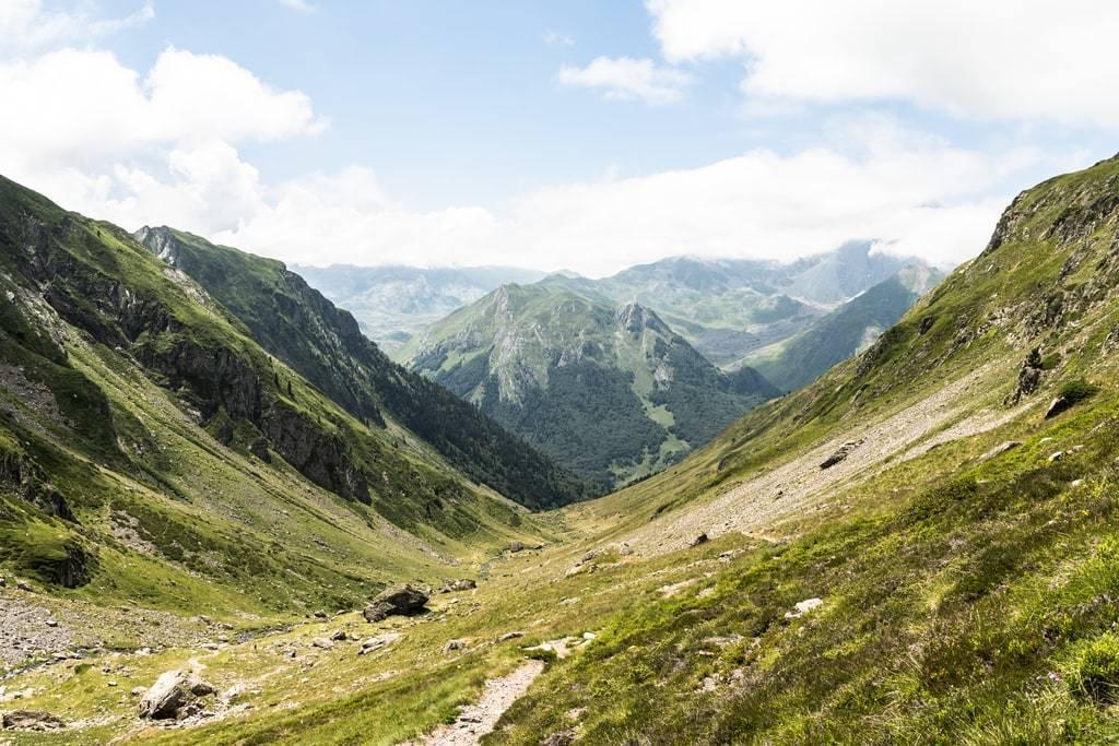 vue vallée montagne