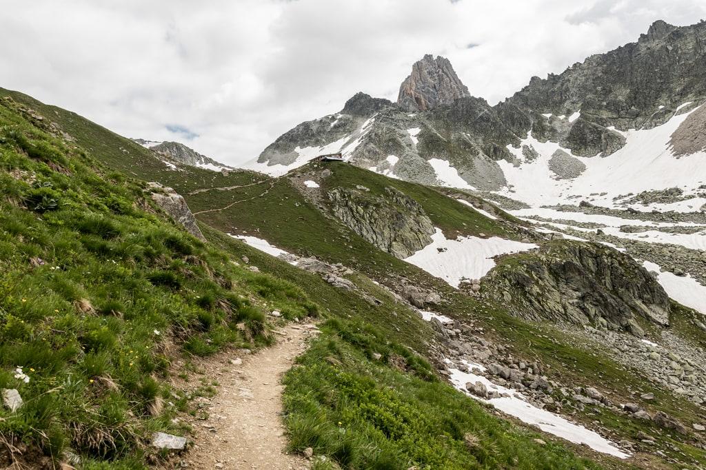 panorama montagne sentier