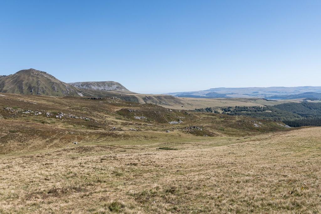 vue Sancy montagne
