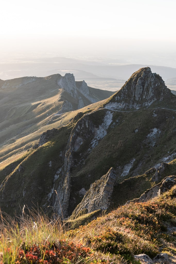 golden hour montagne