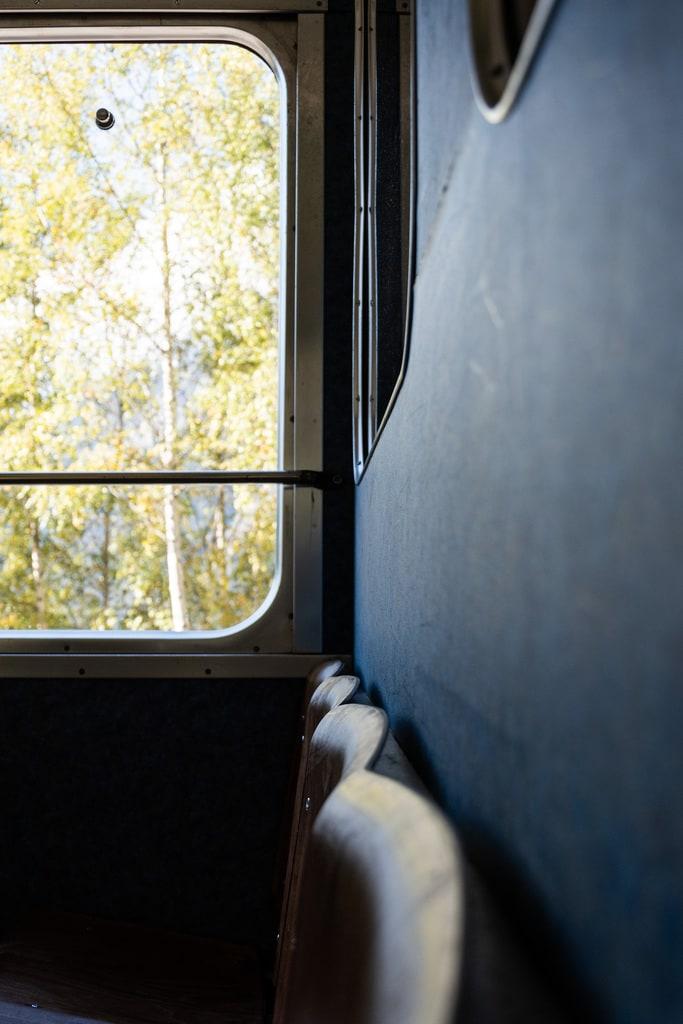 banquette intérieur train