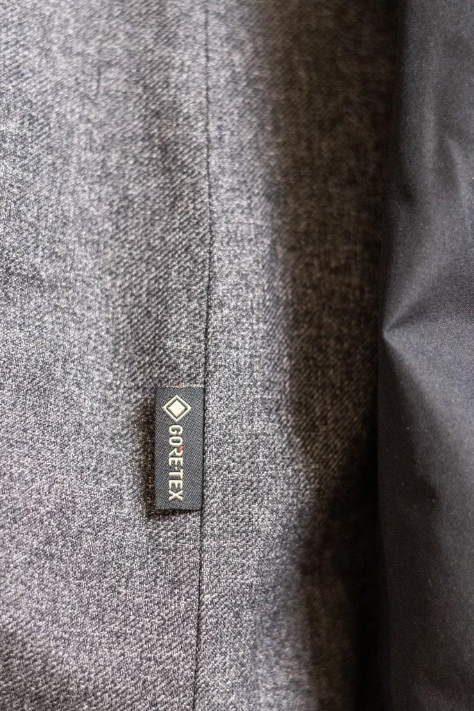 detail veste
