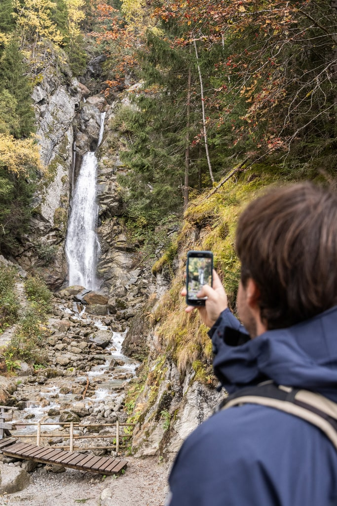 photographe cascade