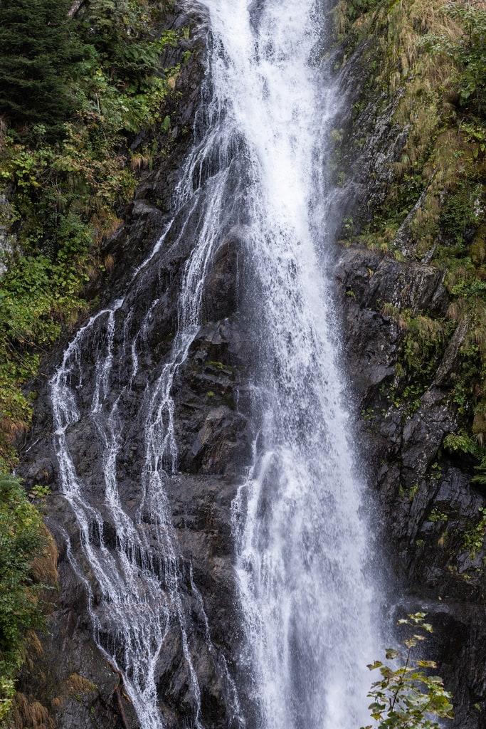 detail eau cascade