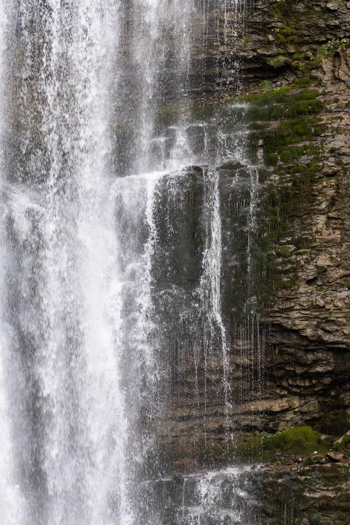 cascade eau detail