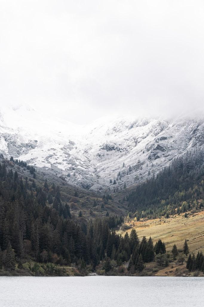 lac Guerin hiver