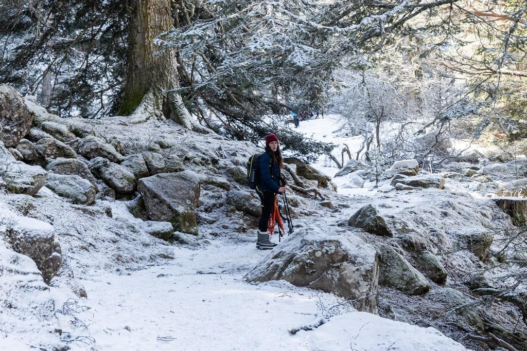 randonneur neige