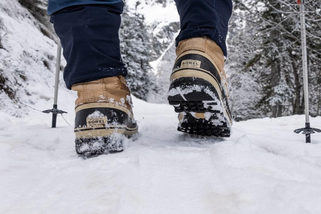 chaussures randonnée neige