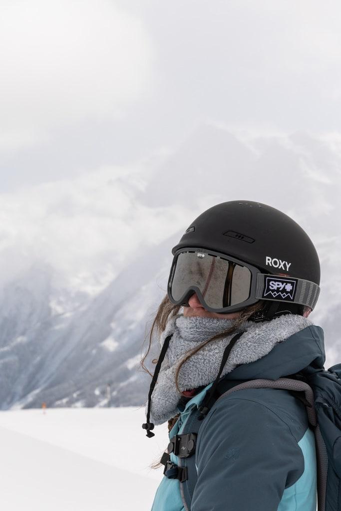 portrait skieuse