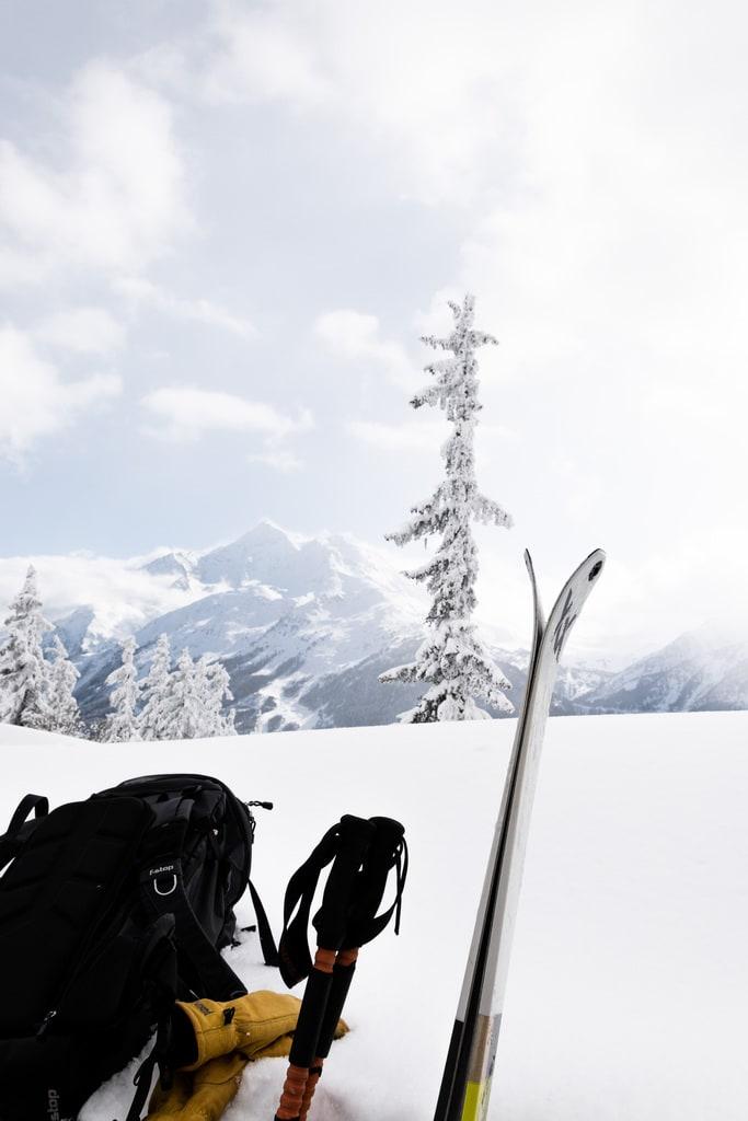 matériel ski de rando