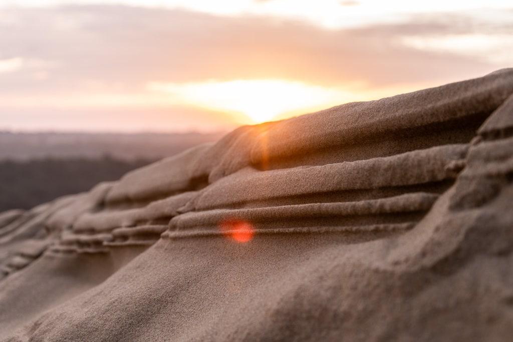 detail dune light