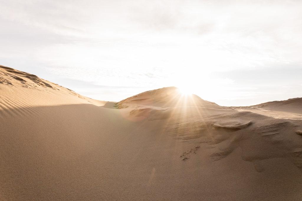 light sur dune