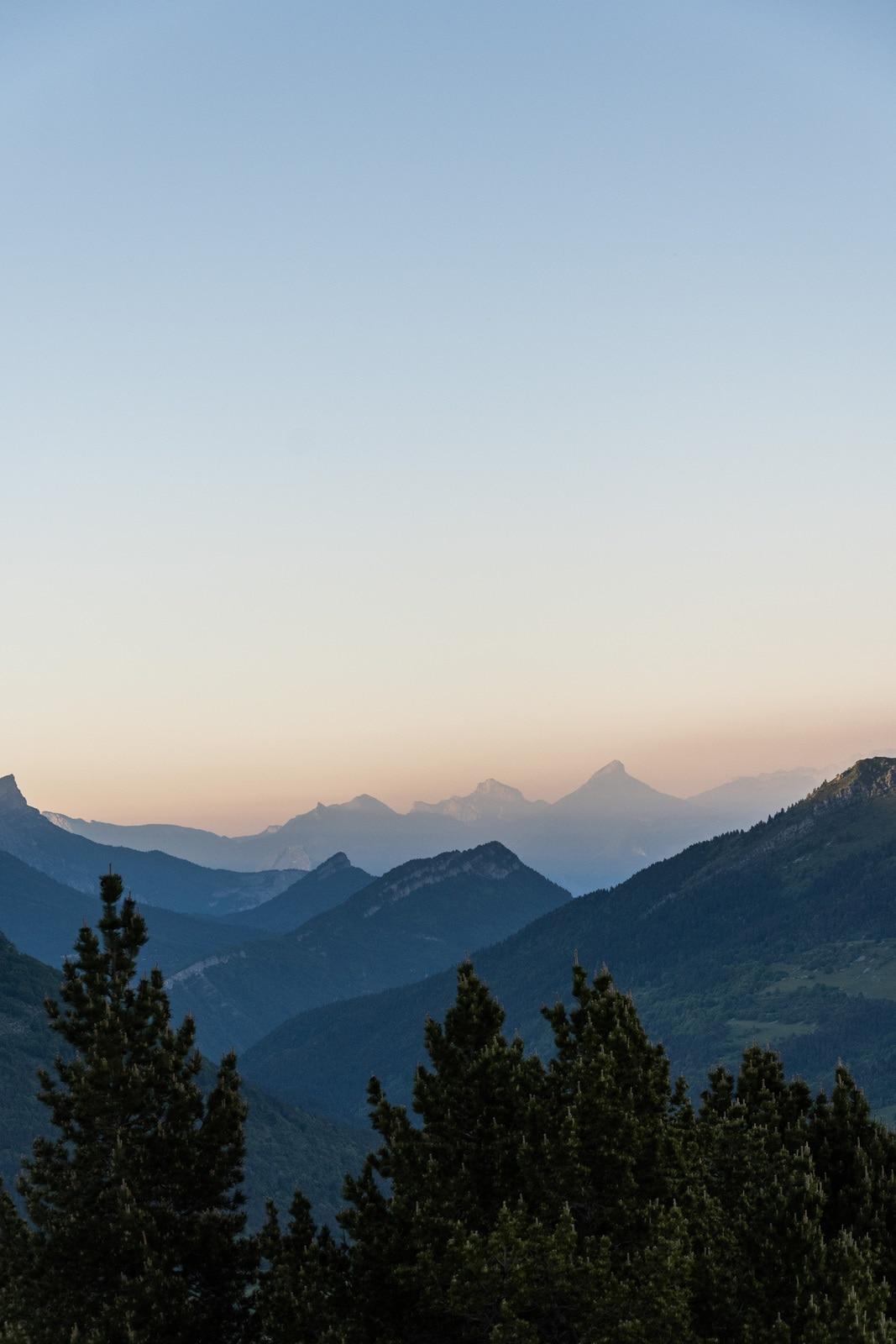 layers sur montagnes