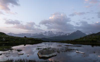 Alpes | Lever du soleil au Lac Guichard