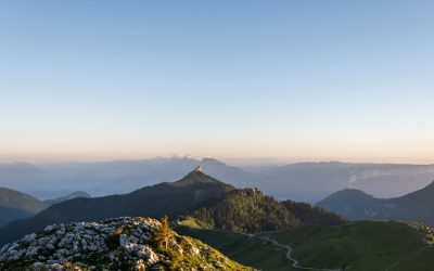 Alpes | Rando sunset au Charmant Som