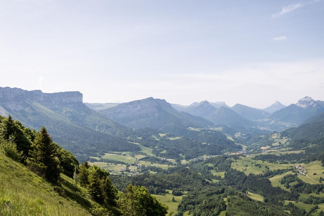 panorama sur la chartreuse