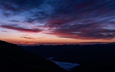 Pyrénées | Col de Portet sous le sunrise