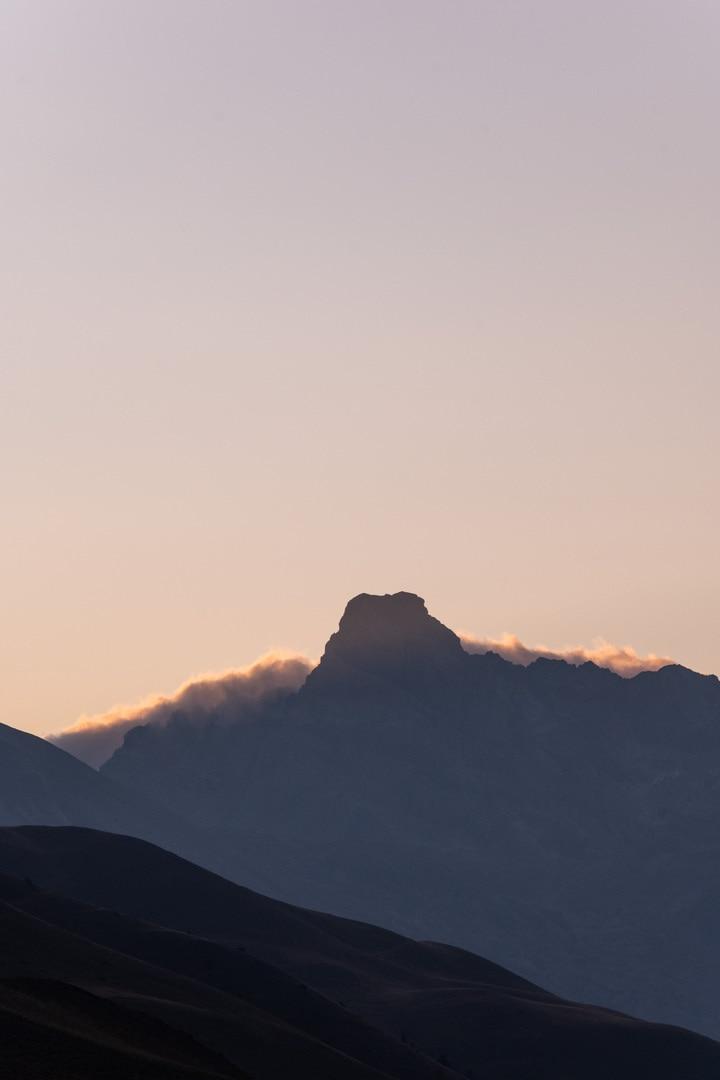 sunrise sur sommet