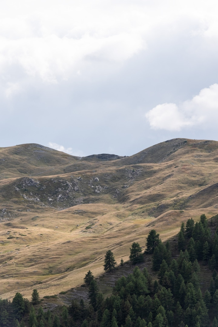 paysage col de Serenne