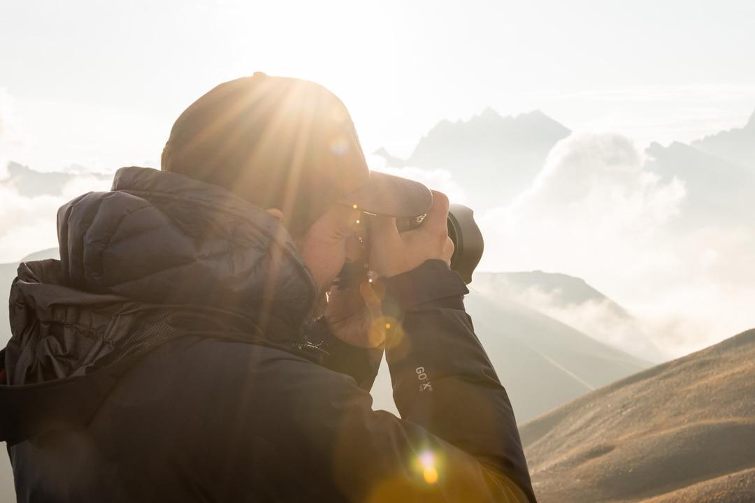 photographe sous la golden hour