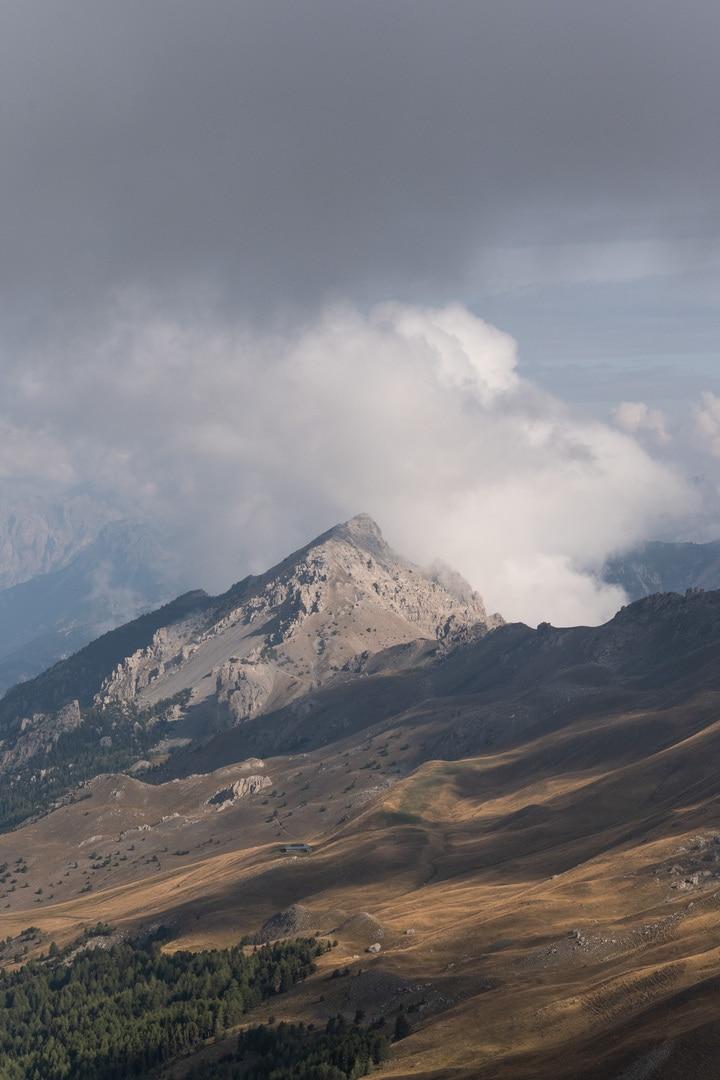 montagne dans la vallée