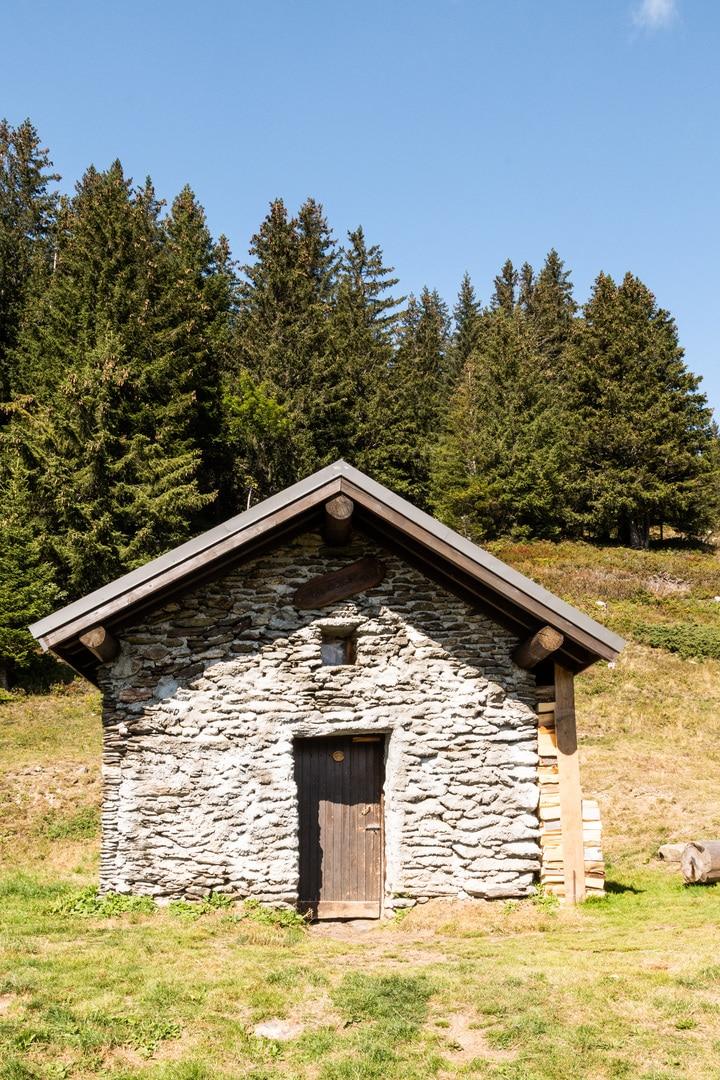 refuge en pierre