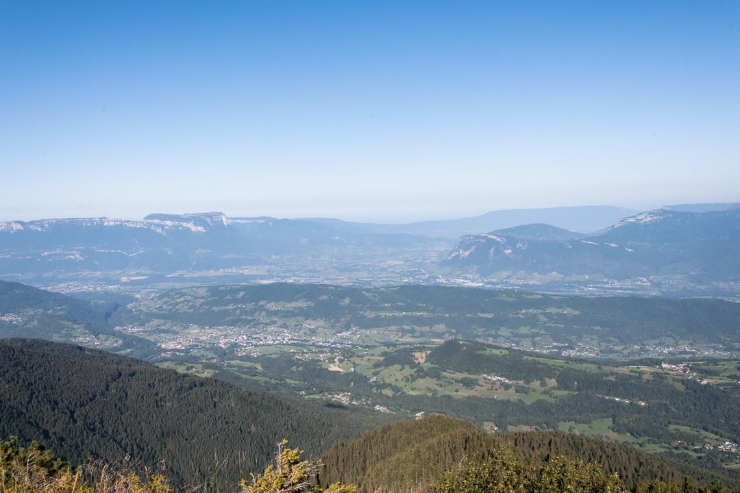 panorama chartreuse et bauges