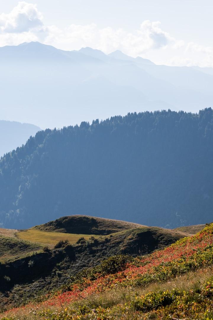 layer montagnes