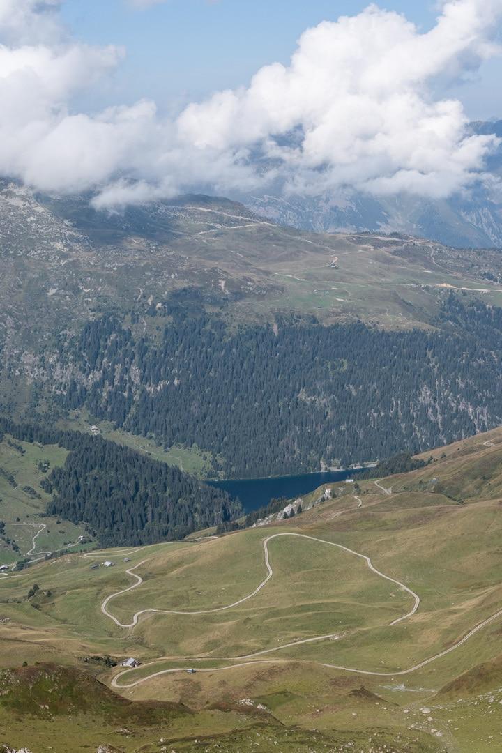 lac sainte Guerin contre bas
